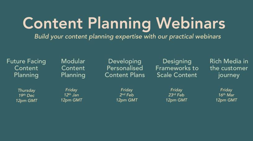 Content Queen Webinar Series